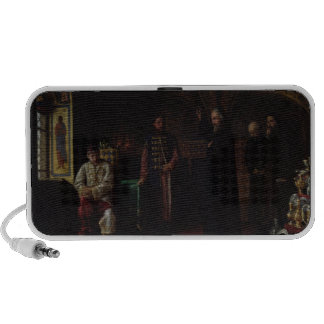 Metropolitan Philip of Moscow  with Tsar Ivan Portable Speakers