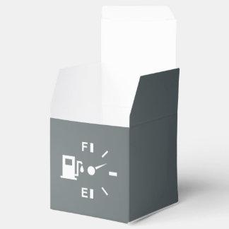 Metros de combustible gráficos cajas para regalos de fiestas