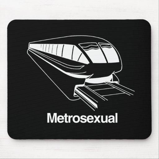 Metrosexual Mouse Pad