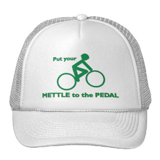Mettle to the Pedal Hats