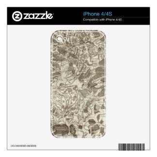 Metz Calcomanía Para El iPhone 4