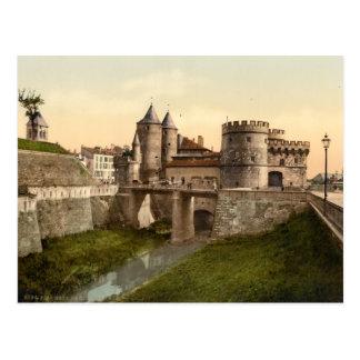 Metz - German Gate Postcard