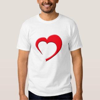 Meu Coração II T-Shirt (red on dark)