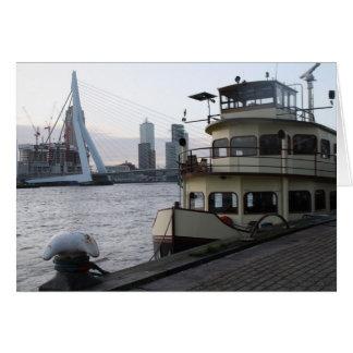 Meuse river, Rotterdam Card