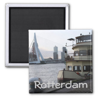 Meuse river, Rotterdam Refrigerator Magnets