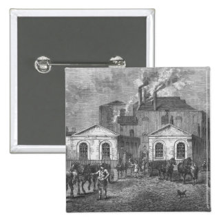 Meux's Brewery, 1830 Button