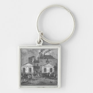 Meux's Brewery, 1830 Keychain