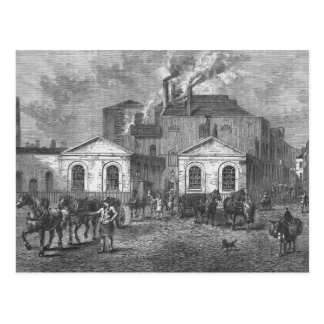 Meux's Brewery, 1830 Postcard