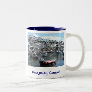 Mevagissey, Cornualles, Inglaterra Taza De Café