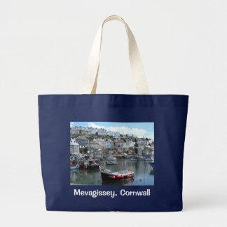 Mevagissey, Cornwall, England Tote Bag