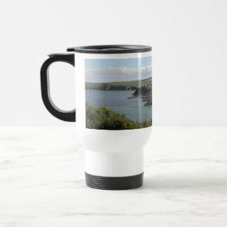 Mevagissey. Cornwall. Scenic coastal view. Mug