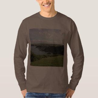 Mevagissey. Cornwall. Scenic coastal view. T-shirts