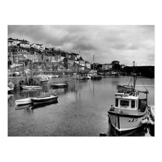 Mevagissey Harbour Cornwall Postcard