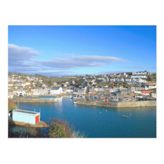 Mevagissey in Cornwall Postcard