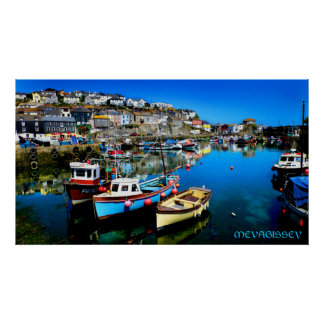 mevagissey póster