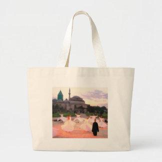 mevlana konya canvas bags