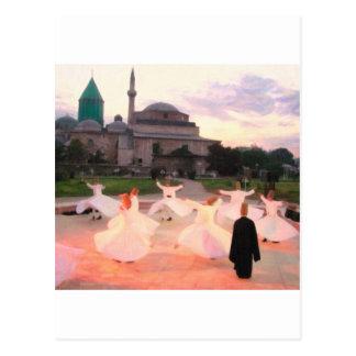 mevlana konya postcard