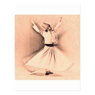 Mevlana Sufi Postcard