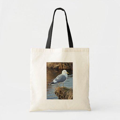 Mew Gull Canvas Bags