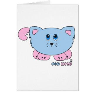 Mew Kitty Pudgie Pet Card
