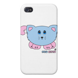 Mew Kitty Pudgie Pet iPhone 4 Cases