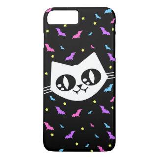 Mew Wave Kawaii Cat Bats iPhone 7 Plus Case