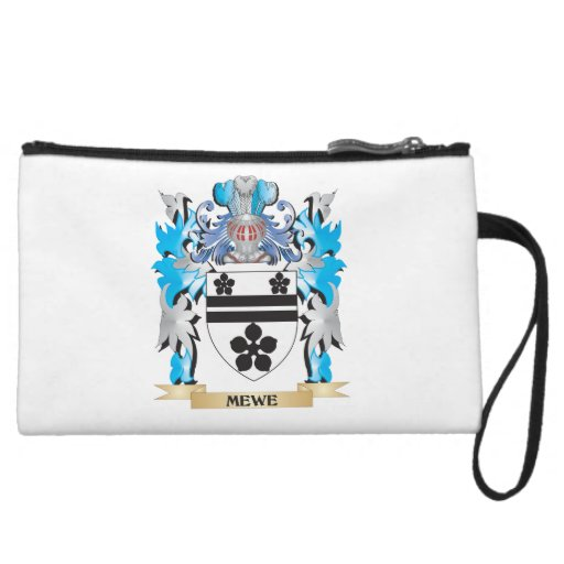 Mewe Coat of Arms - Family Crest Wristlet Clutch
