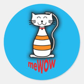 meWOW Cat Good Job Reward Customizable Sticker