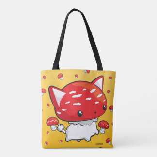 Mewshroom tote bag