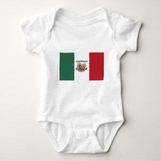 Mexcian Flag Baby Bodysuit