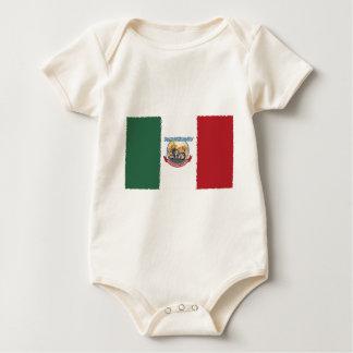Mexcian Flag Bodysuit