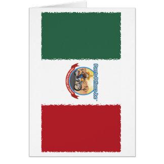 Mexcian Flag Card