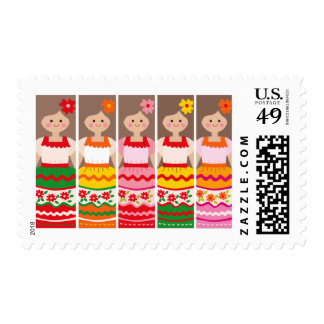MexcianBookmark Postage