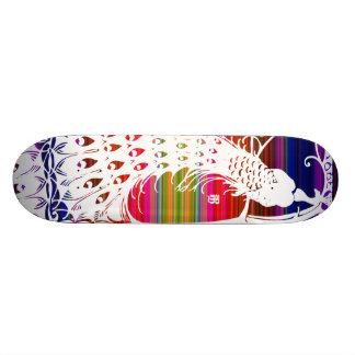 Mexi-Cali Peacock Skateboard Deck