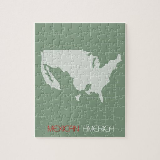 Mexican America Jigsaw Puzzle