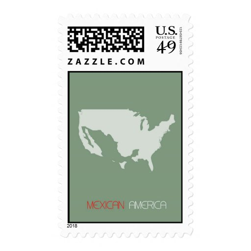 Mexican America Postage Stamp