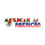 Mexican American Eagles Business Card Templates