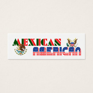 Mexican American Eagles Mini Business Card