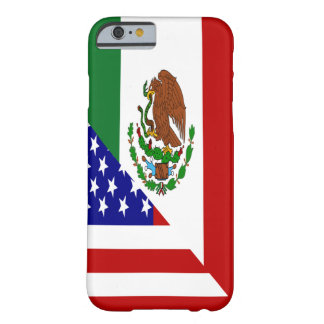 Mexican American Flag Barely There iPhone 6 Case