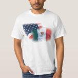 Mexican-American Flag t Shirt