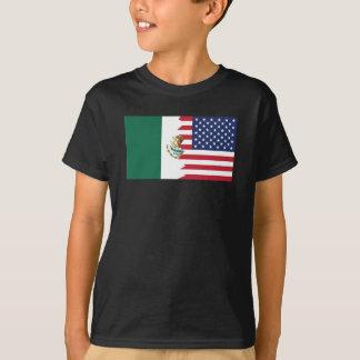 Mexican American Flag T-Shirt