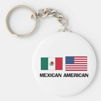 Mexican American Keychain
