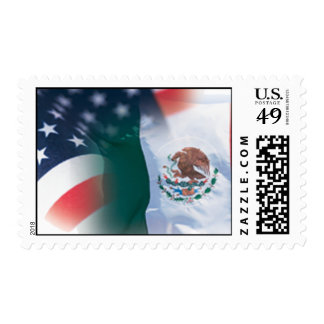 Mexican-American Postage Stamps