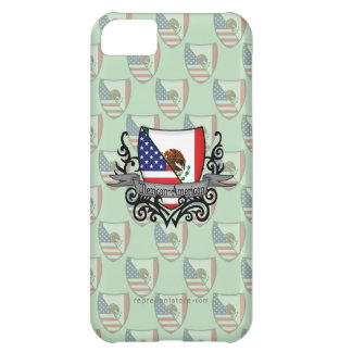Mexican-American Shield Flag Case For iPhone 5C