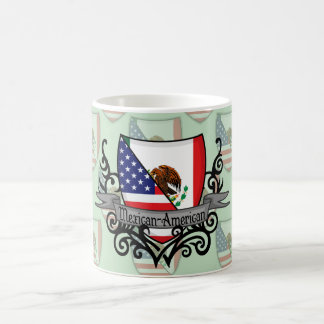 Mexican-American Shield Flag Coffee Mug