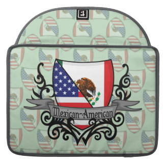 Mexican-American Shield Flag Sleeve For MacBooks