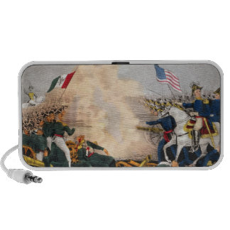 Mexican American War Battle of Buena Vista 1847 Mini Speaker