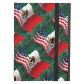 Mexican-American Waving Flag iPad Air Cases