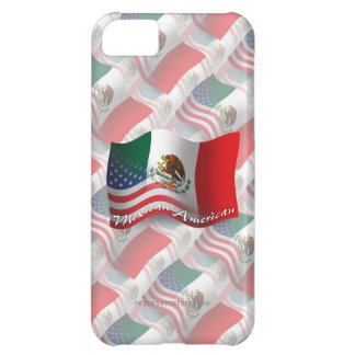 Mexican-American Waving Flag iPhone 5C Cover