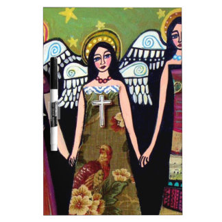 Mexican Angels by Heather Galler Dry-Erase Whiteboards
